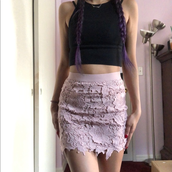 American Eagle Outfitters Dresses & Skirts - American Eagle Lace Skirt